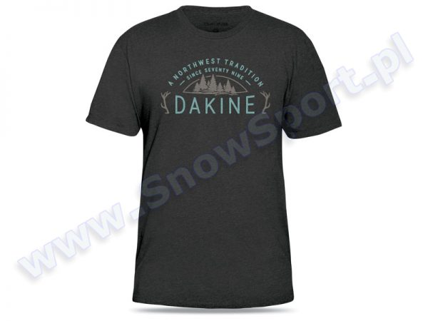 Koszulka Dakine Tradition Charcoal Heather 2016 najtaniej