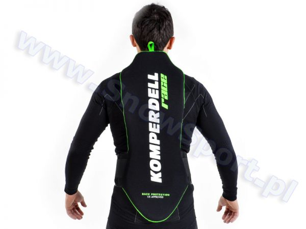Ochraniacz na kręgosłup KOMPERDELL Race Black/Green najtaniej