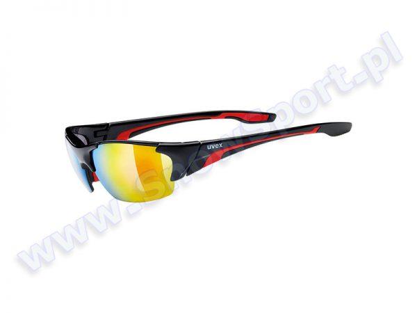 Okulary Uvex Blaze III Black Red 2316 najtaniej