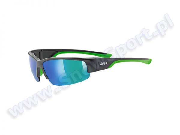 Okulary Uvex Sportstyle Sgl 215 Black Mat Green 2716 najtaniej