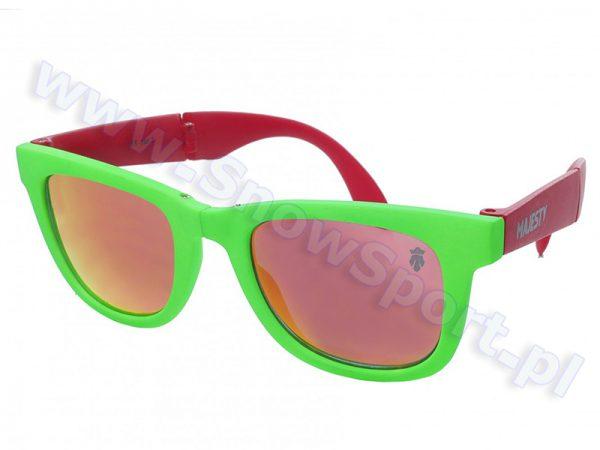 Okulary Majesty Shades Compact FX Green/Red / Red Mirror najtaniej