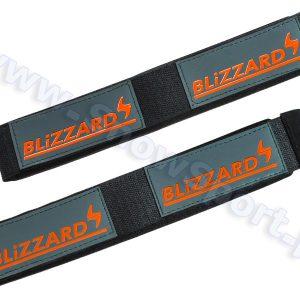 Zapinki do nart Blizzard Szaro-pomarańczowe - 2 szt. (14277) najtaniej