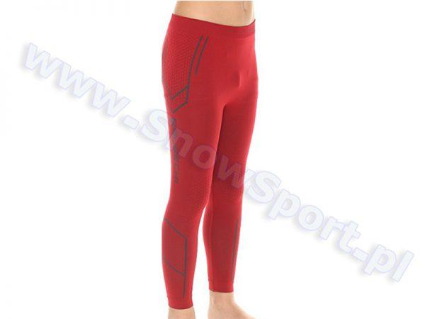 Spodnie Chłopięce Termoaktywne BRUBECK KIDS THERMO DARK RED (LE10790) najtaniej