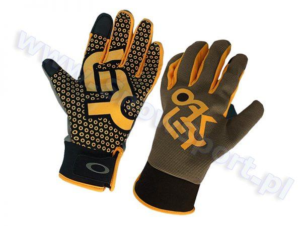 Rękawice Oakley Factory Park Glove Worn Olive 2015 najtaniej