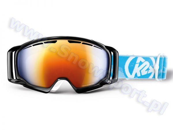 Gogle K2 Captura Black Burnt Orange Octic Blue Mirror 2013 najtaniej