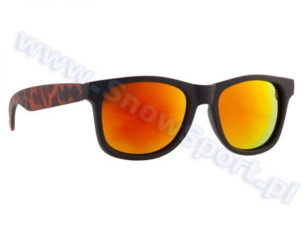 Okulary Majesty L+ Shades Black Tortoise / Red Mirror Lens najtaniej