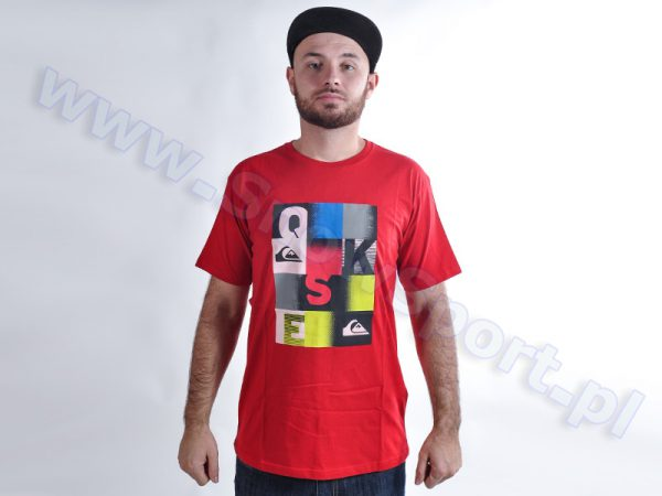 Koszulka Quiksilver Classic Tee Word Check AS RQQ0 najtaniej
