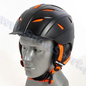 Kask Blizzard Power Ski Helmet Black Matt Neon Orange 2016 najtaniej