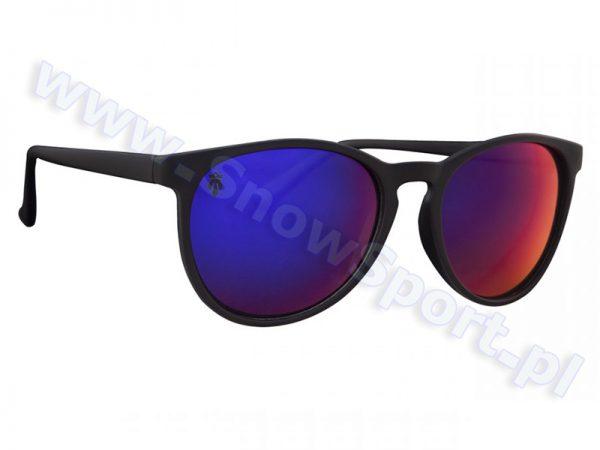 Okulary Przeciwsłoneczne Majesty Rush Black Matt / Rubby Purple Polarized najtaniej