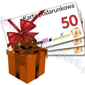 Karta Podarunkowa Bon Voucher 50 najtaniej