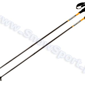 Kijki ski touring Komperdell Expedition Solid Carbon Orange Matt najtaniej