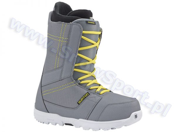 Buty Burton Invader Gray Yellow 2016 najtaniej