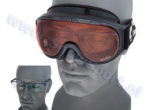 Gogle Carrera Pro Optic Super Rosa Black Shy OTG Collection najtaniej