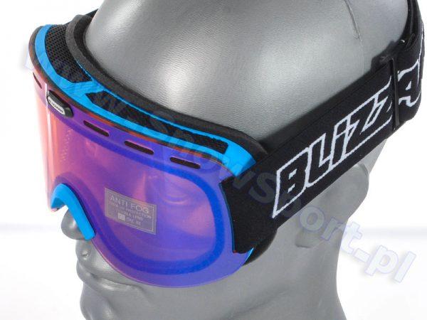 Gogle Blizzard 922 MDAVZO Neon Blue Matt Amber/Blue 2015 najtaniej