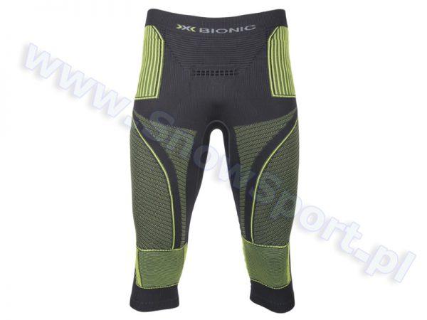 Spodnie termoaktywne 3/4 X-Bionic Energy Accumulator EVO Man charcoal yellow najtaniej