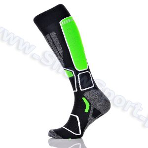 Skarpety SPAIO Ski Power Black Green 2015 najtaniej
