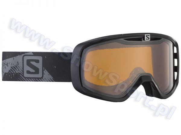 Gogle SALOMON Aksium Low Light Black & Standard Orange Lens 2015 najtaniej