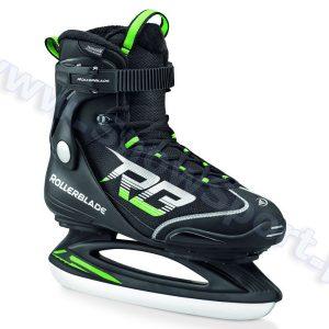 Łyżwy Rollerblade Spark ZT Ice Black Green 2016 najtaniej