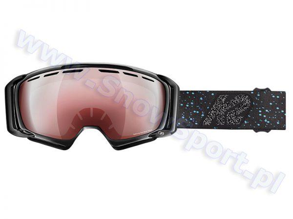 Gogle K2 Sira Black Speckle Vermillion 2016 najtaniej