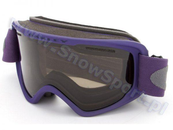 Gogle OAKLEY O2 XM Purple Shade Gray (OO7066-03) K3 najtaniej