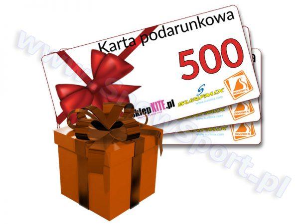 Karta Podarunkowa Bon Voucher 500 najtaniej