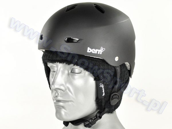 Kask BERN Brighton Hard Hat Matte Black najtaniej
