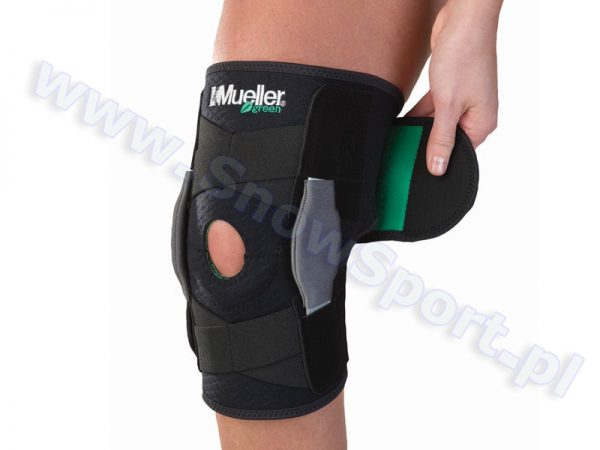 Zawiasowy stabilizator kolana Mueller Green 2012 najtaniej