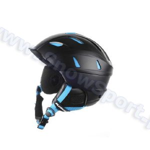 Kask Blizzard Power Ski Helmet Black Matt Neon Blue 2015 najtaniej