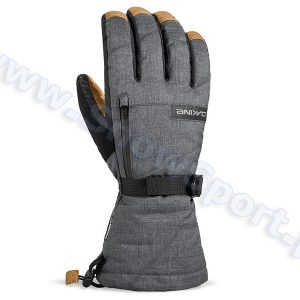 Rękawice DAKINE Leather Titan Glove Carbon 2017 najtaniej
