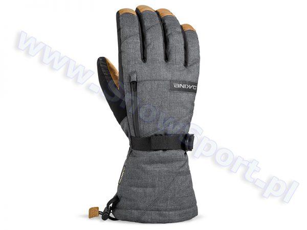Rękawice DAKINE Leather Titan Glove Carbon 2017 najtaniej