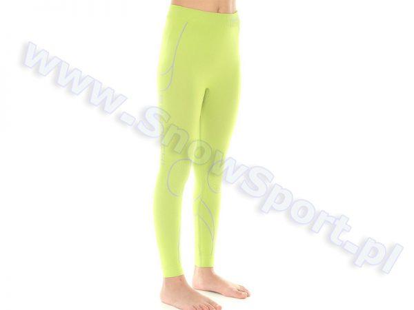 Spodnie dziewczęce termoaktywne BRUBECK KIDS THERMO Lime  2014 najtaniej