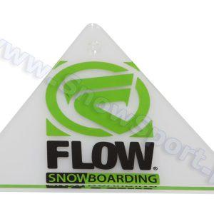 Cyklina snowboardowa plexi Flow Delta Scrapper 2013 najtaniej