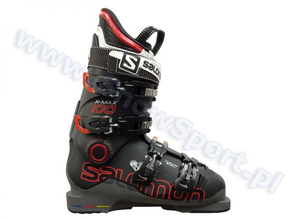 Buty SALOMON X MAX 100 Black Anthracite 2015 najtaniej