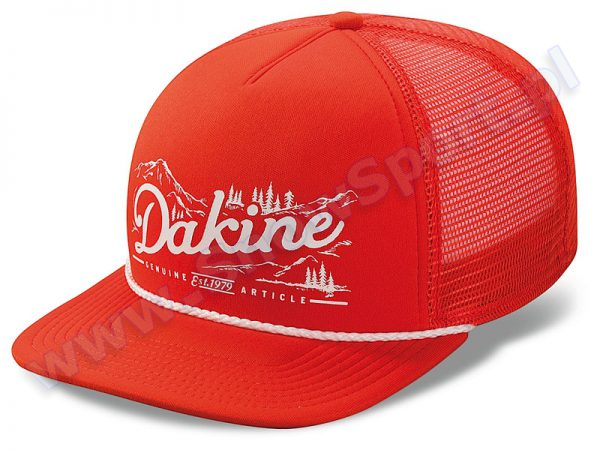 Czapka z daszkiem Dakine Mountain Trucker Orange 2015 najtaniej