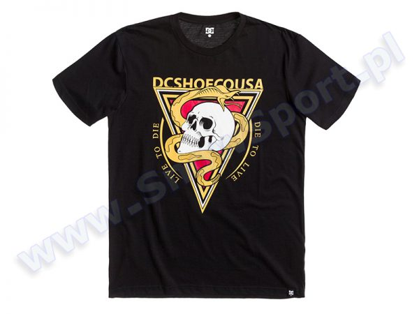 Koszulka DC SNAKEHEAD SS Black KVK0 najtaniej