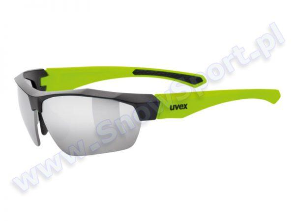 Okulary Uvex Sportstyle Sgl 216 Black Mat Yellow 2616  2015 najtaniej
