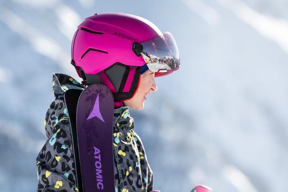 Kask narciarski dla dzieci