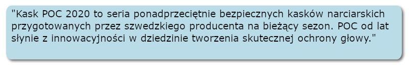 Kask_POC_2020-cytat