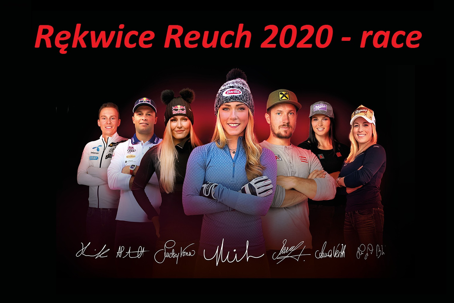 Rękawice Reusch 2020 -race