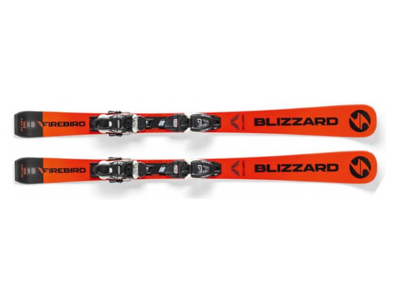 Narty Blizzard FIREBIRD JR + Wiązania Tyrolia 4.5 FDT JR 2020