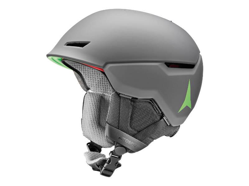 Kask narcairski Atomic Revent+ Grey Green 2020