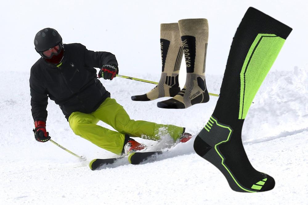 Skarpety narciarskie i na snowboard - pomagamy wybrać najlepsze!