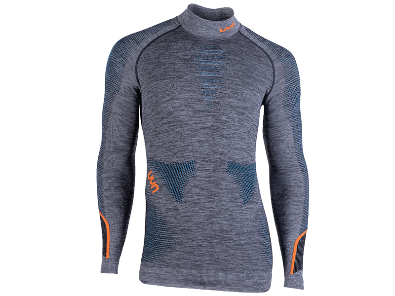 Bluza termoaktywna męska UYN Ambityon Man Atlantic / Orange 2020