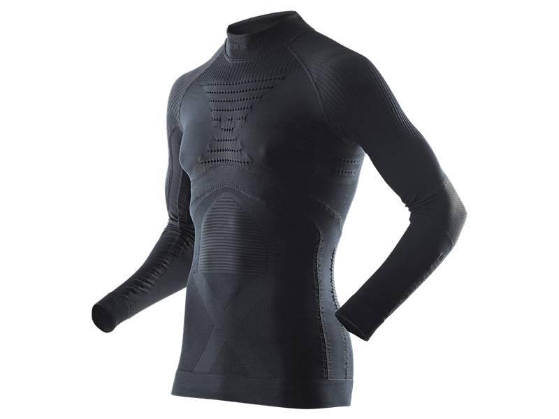 Koszulka termoaktywna z golfem X-Bionic Energy Accumulator EVO Man B026 Black 2019