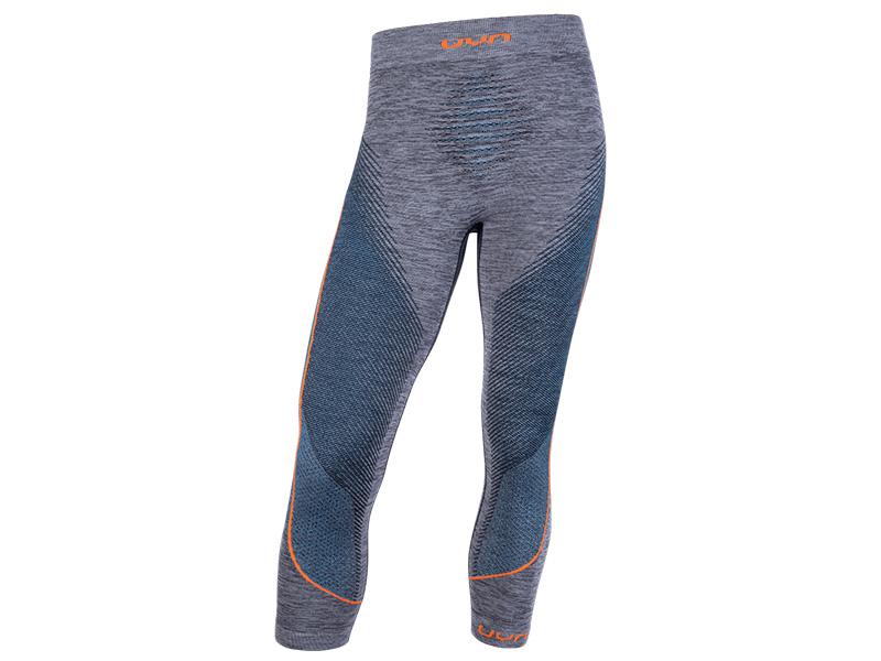 Spodnie termoaktywne męskie UYN 3/4 Ambityon Man Atlantic / Orange 2020