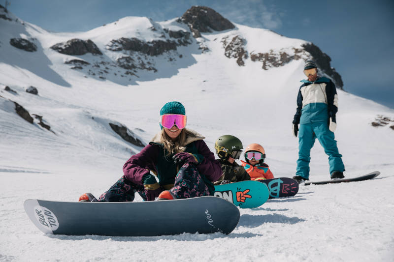 Deska snowboardowa dla dzieci