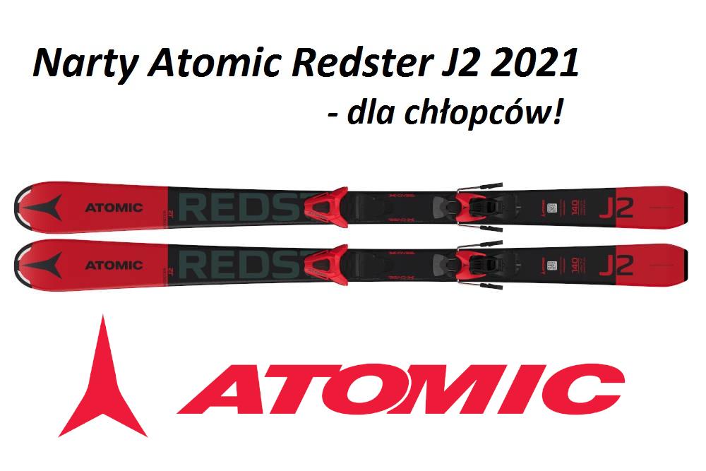 Narty Atomic Redster J2 2021 - dla chłopców!