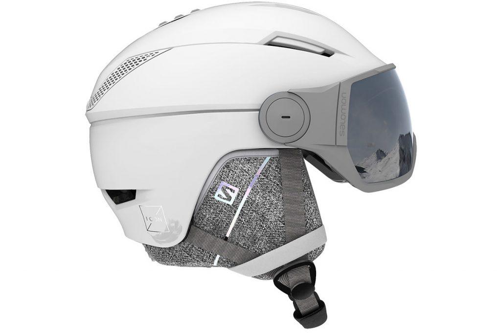 ICON2 VISOR WHITE/Univ Silver