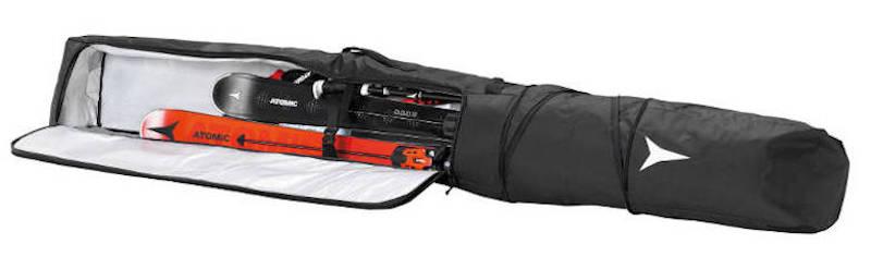 Pokrowiec na narty ATOMIC Double Ski Bag Black/White 205 2021