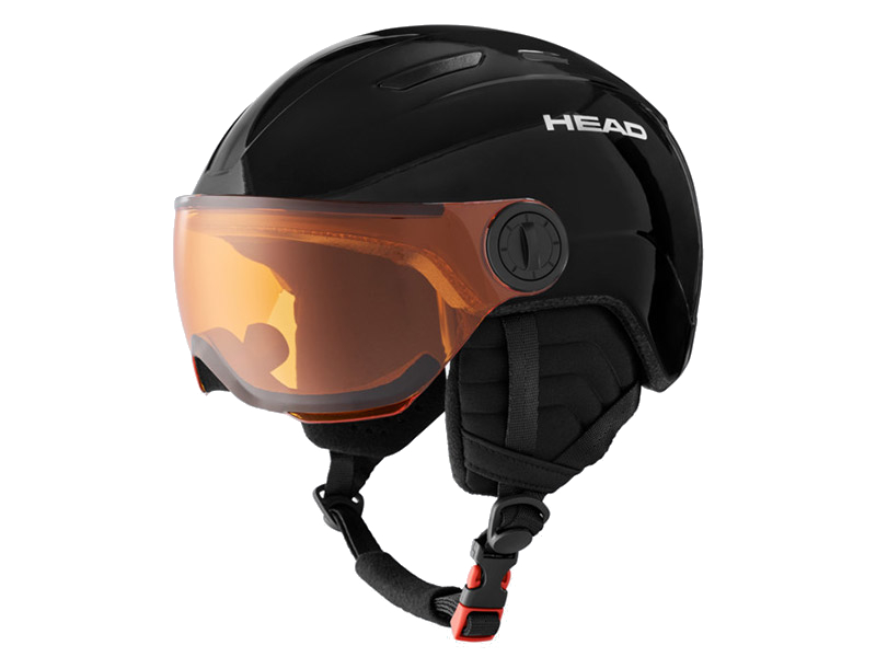 Kask HEAD Mojo Visor Black 2021